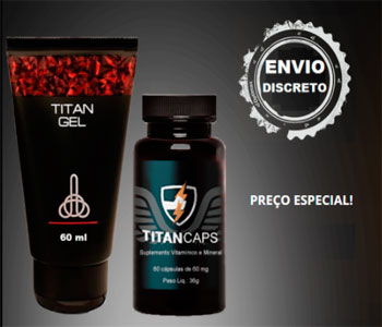 Titan Gel Ingredientes